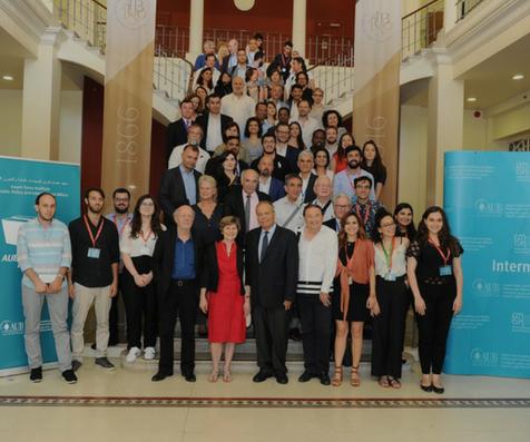 Descubra las fotos de la conferencias de IPEV en Beirut